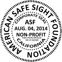 American Safe Sight Foundation Seal